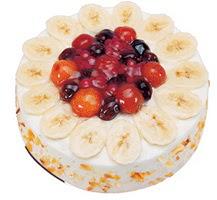 Meyvali 4 ile 6 kisilik yas pasta leziz  Tokat çiçek servisi , çiçekçi adresleri