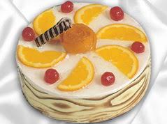 lezzetli pasta satisi 4 ile 6 kisilik yas pasta portakalli pasta  Tokat kaliteli taze ve ucuz çiçekler