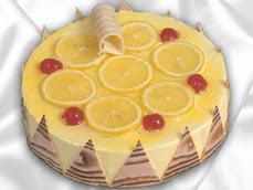 taze pastaci 4 ile 6 kisilik yas pasta limonlu yaspasta  Tokat çiçek gönderme sitemiz güvenlidir