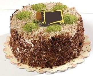 pasta gönderme 4 ile 6 kisilik çikolatali yas pasta  Tokat hediye sevgilime hediye çiçek