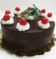 4 ile 6 kisilik yas pasta çikolatali taze pastaci  Tokat çiçek , çiçekçi , çiçekçilik