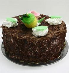 4 ile 6 kisilik yas pasta çikolatali leziz pastane ürünü  Tokat çiçek gönderme