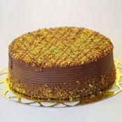 sanatsal pastaci 4 ile 6 kisilik krokan çikolatali yas pasta  Tokat çiçek yolla