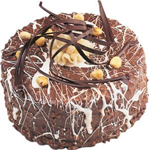 pasta satisi 4 ile 6 kisilik çikolatali yas pasta  Tokat cicek , cicekci