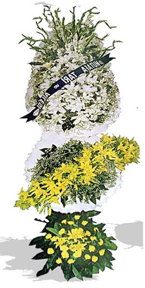 Dügün nikah açilis çiçekleri sepet modeli  Tokat çiçek online çiçek siparişi