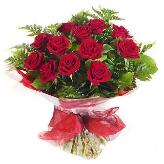 Ucuz Çiçek siparisi 11 kirmizi gül buketi  Tokat hediye çiçek yolla