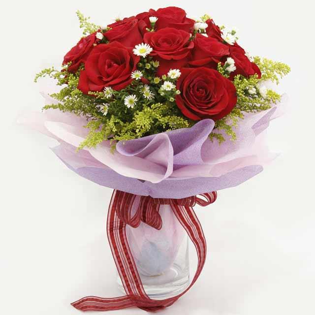 Çiçek gönderme estetikliginiz 11 gül buket  Tokat kaliteli taze ve ucuz çiçekler
