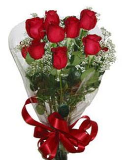 Çiçek sade gül buketi 7 güllü buket  Tokat çiçek gönderme sitemiz güvenlidir