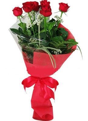 7 adet kirmizi gül buketi  Tokat online çiçek gönderme sipariş