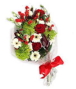 Karisik mevsim buketi çiçek tanzimi  Tokat çiçek yolla , çiçek gönder , çiçekçi