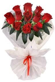 11 adet gül buketi  Tokat çiçek yolla , çiçek gönder , çiçekçi   kirmizi gül