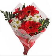 Mevsim çiçeklerinden görsel buket  Tokat online çiçekçi , çiçek siparişi