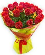 19 Adet kırmızı gül buketi  Tokat İnternetten çiçek siparişi