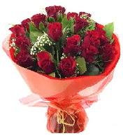 12 adet görsel bir buket tanzimi  Tokat İnternetten çiçek siparişi