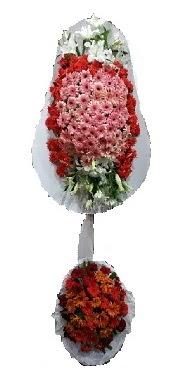 çift katlı düğün açılış sepeti  Tokat yurtiçi ve yurtdışı çiçek siparişi