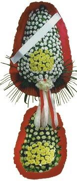 Çift katlı düğün açılış çiçeği  Tokat çiçekçi mağazası