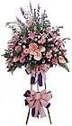 Tokat çiçekçiler   Ferforje Pembe kazablanka