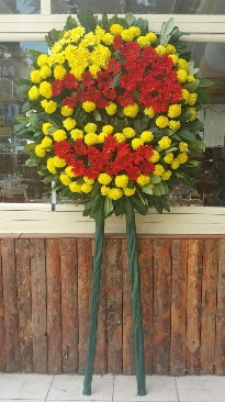 Cenaze çelengi çiçek modeli  Tokat çiçek siparişi sitesi
