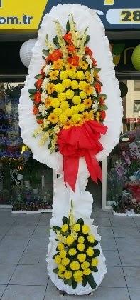 Çift katlı düğün nikah açılış çiçeği  Tokat çiçekçiler