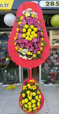 Çift katlı düğün nikah açılış çiçek modeli  Tokat çiçek gönderme sitemiz güvenlidir