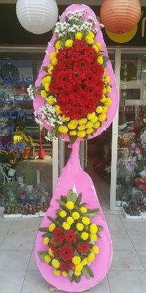 Çift katlı düğün nikah açılış çiçek modeli  Tokat online çiçekçi , çiçek siparişi