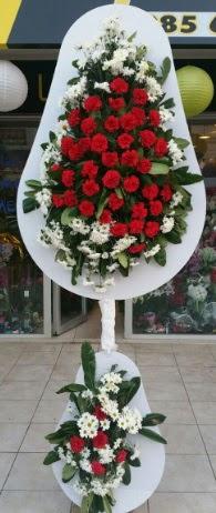 2 katlı nikah çiçeği düğün çiçeği  Tokat 14 şubat sevgililer günü çiçek