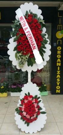Çift katlı düğün nikah çiçeği modeli  Tokat güvenli kaliteli hızlı çiçek