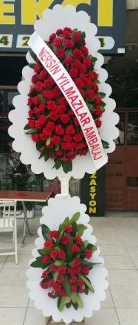 Çift katlı düğün nikah çiçeği modeli  Tokat çiçek mağazası , çiçekçi adresleri