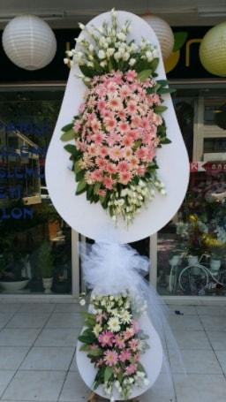 Çift katlı özel şahane sepet çiçeği  Tokat anneler günü çiçek yolla