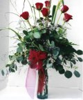 Tokat güvenli kaliteli hızlı çiçek  7 adet gül özel bir tanzim