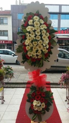 Çift katlı düğün açılış çiçeği  Tokat hediye sevgilime hediye çiçek