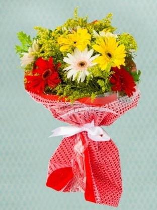 Karışık Gelbera Buketi  Tokat güvenli kaliteli hızlı çiçek