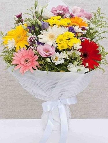 Karışık Mevsim Buketleri  Tokat çiçek servisi , çiçekçi adresleri