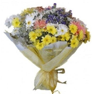 Karışık mevsim çiçeği  Tokat hediye sevgilime hediye çiçek