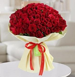 101 adet kırmızı gül buketi koca demet  Tokat çiçek yolla , çiçek gönder , çiçekçi