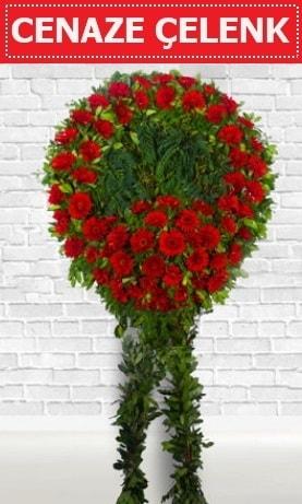 Kırmızı Çelenk Cenaze çiçeği  Tokat cicek , cicekci
