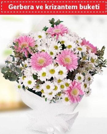 Papatya ve Gerbera Buketi  Tokat çiçek online çiçek siparişi