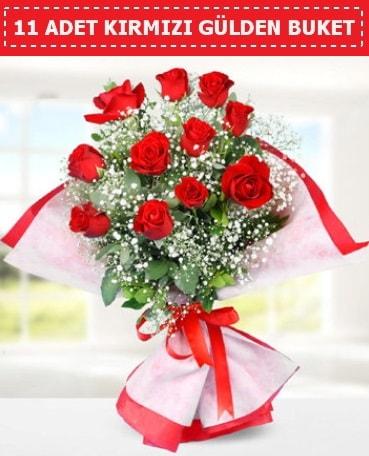 11 Adet Kırmızı Gül Buketi  Tokat çiçek yolla , çiçek gönder , çiçekçi