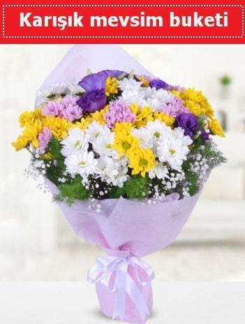 Karışık Kır Çiçeği Buketi  Tokat çiçekçiler