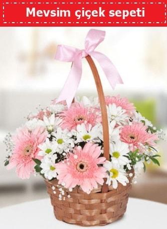 Mevsim kır çiçek sepeti  Tokat çiçek online çiçek siparişi
